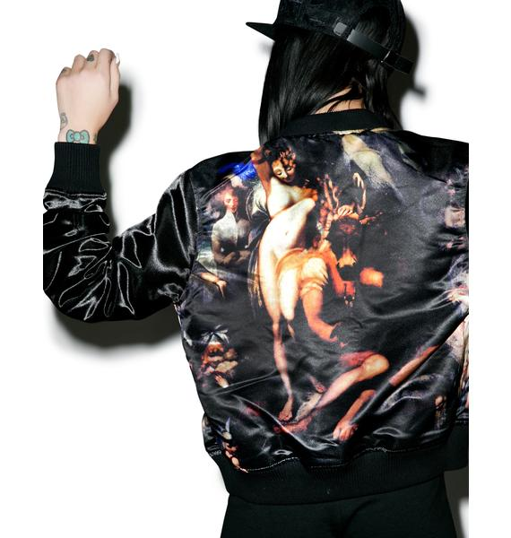 Black Scale Devana MA-1 Reversible Jacket