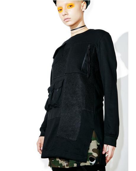 In Command Pocket Sweatshirt