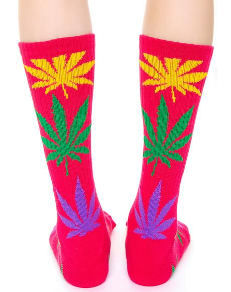 Plantlife Multi Color Sock
