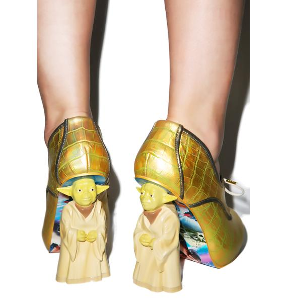 Irregular Choice Yoda Heels
