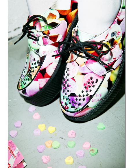 Candy Heart Viva Mondo Creepers