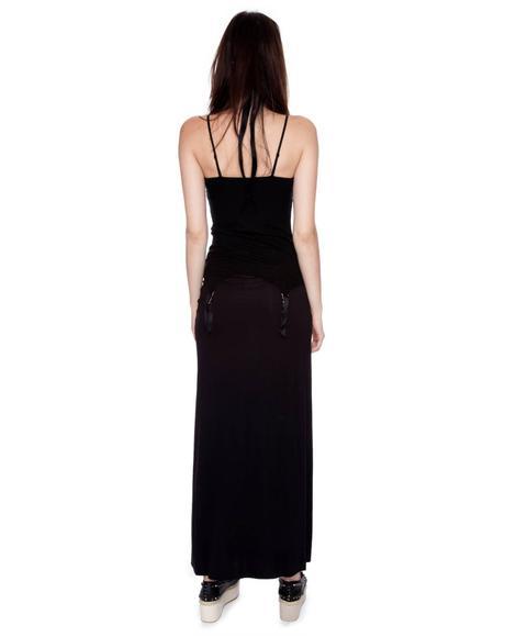 Slit Skirt