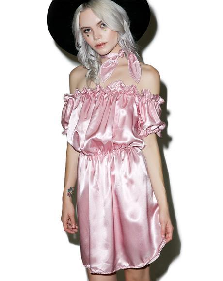 Babygirl Silk Dress