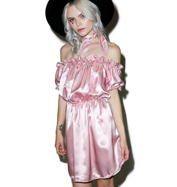 O Mighty Babygirl Silk Dress