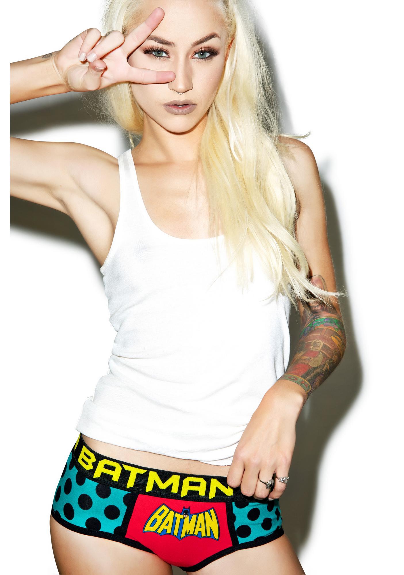 Undergirl Batman 3-Pack Retro Panties