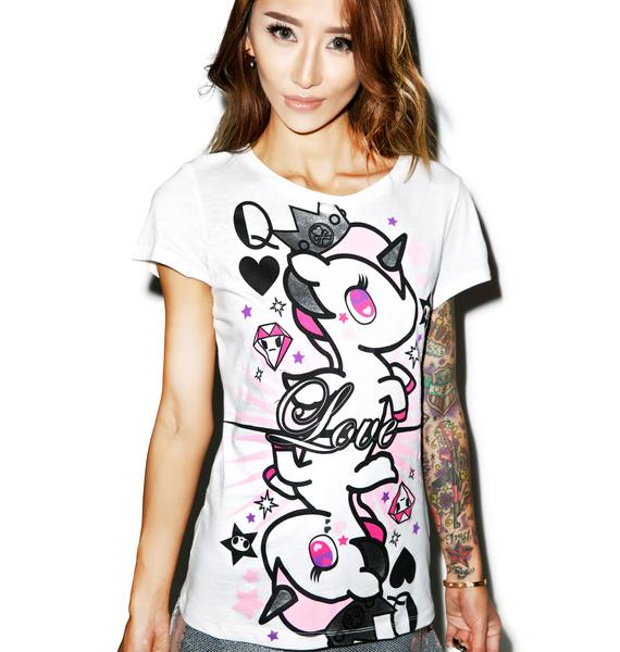 Tokidoki Queen Of Hearts Tee