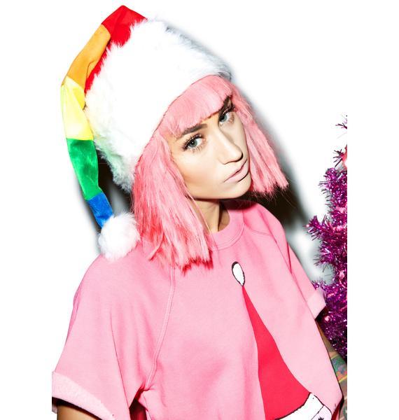 Ho, Hoe, Heaux Santa Hat