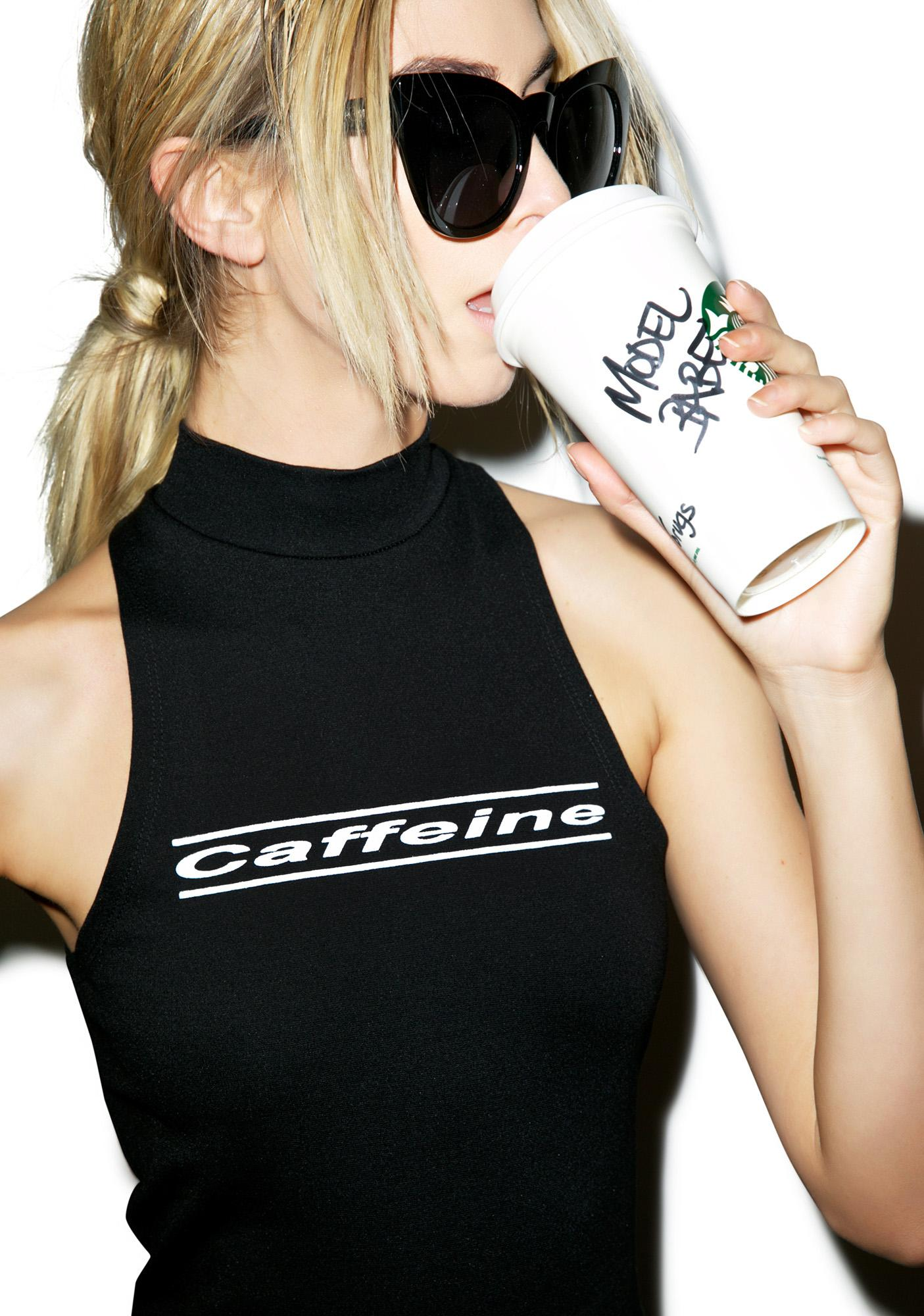 Brashy Caffeine Crop Top