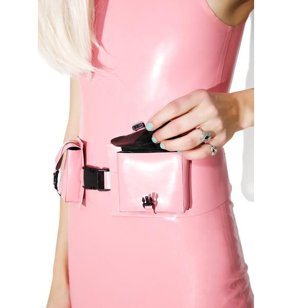 Meat Clothing Waist Double Belt