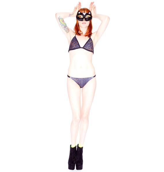 One Teaspoon Decadent Plaited Tri Bikini