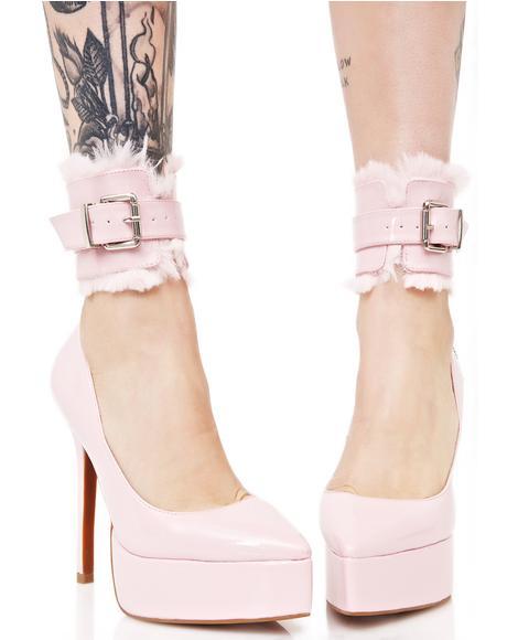 Kitten Cuff Heels