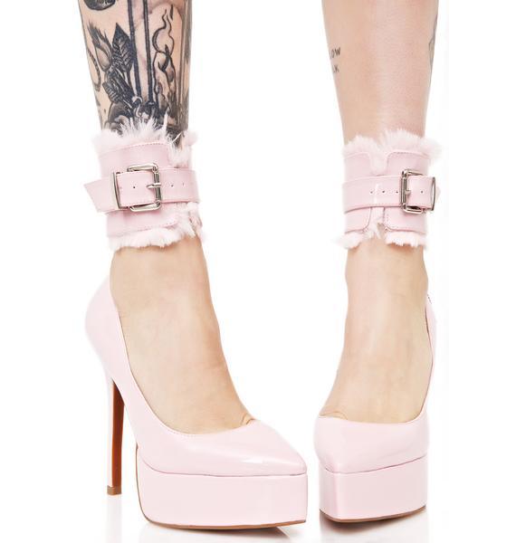 Sugarbaby Kitten Cuff Heels