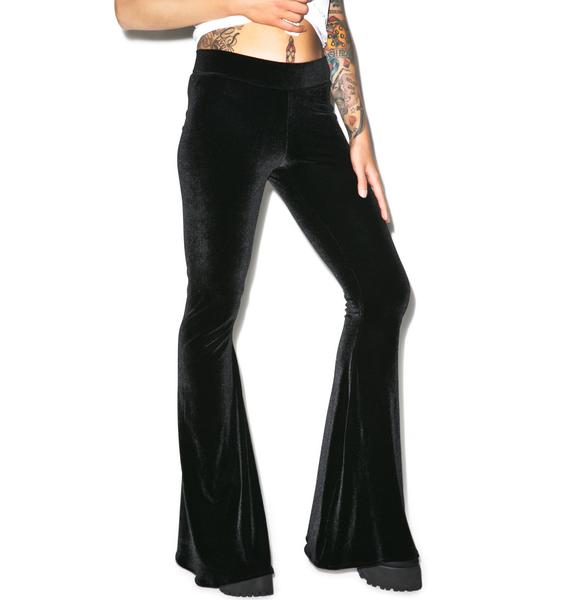 Castles Couture Feel Me Up Velour Flares