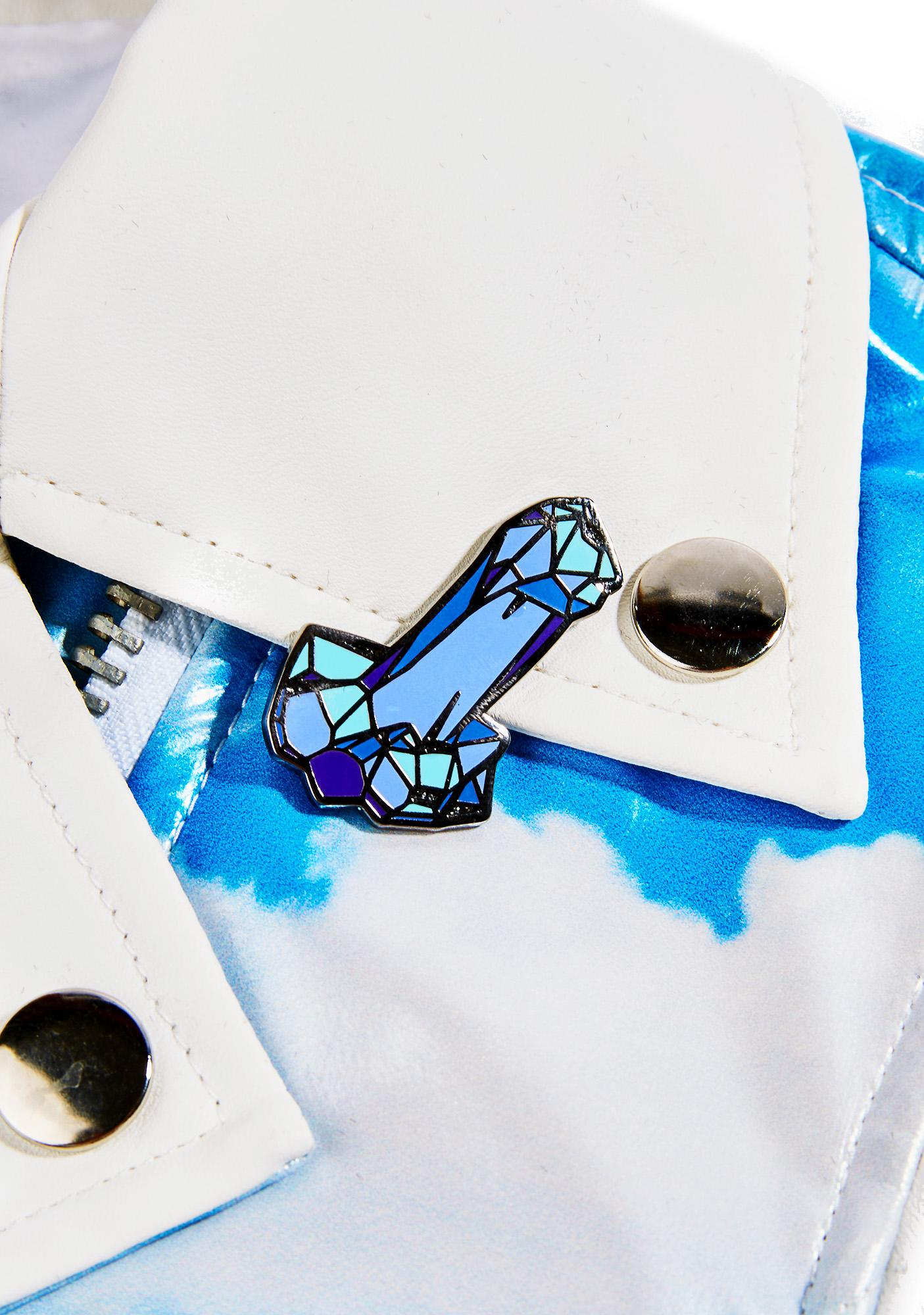 Sara M Lyons Crystal Dick Pin