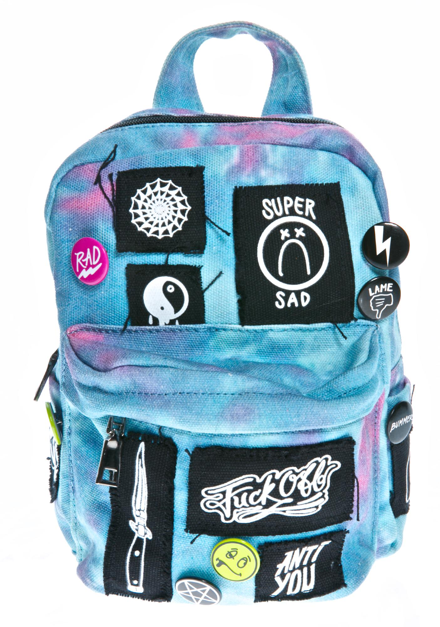 Current Mood Patched Up Mini Backpack