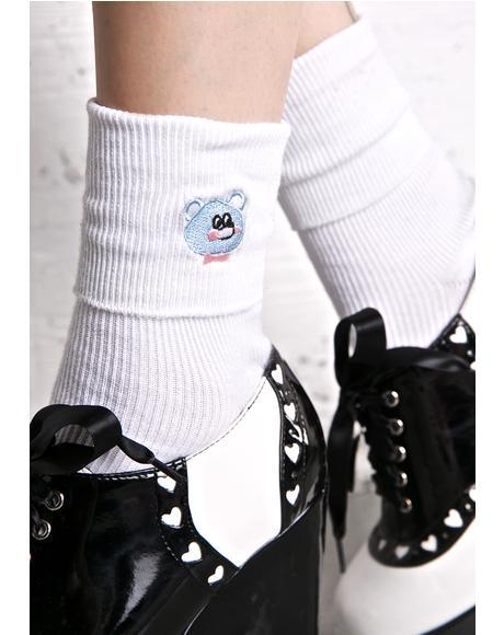Nobody Bear Socks