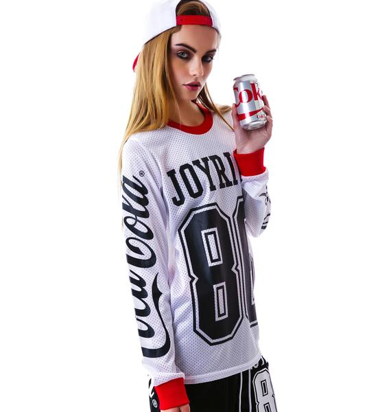 Joyrich Coco-Cola Mesh Long Sleeve Tee