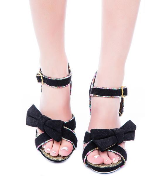 Irregular Choice Here Kitty Heels