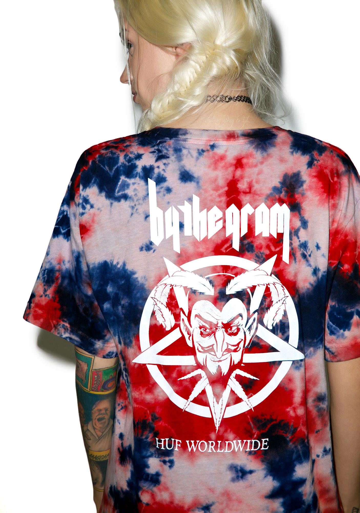 HUF By The Gram Blood Wash Tee