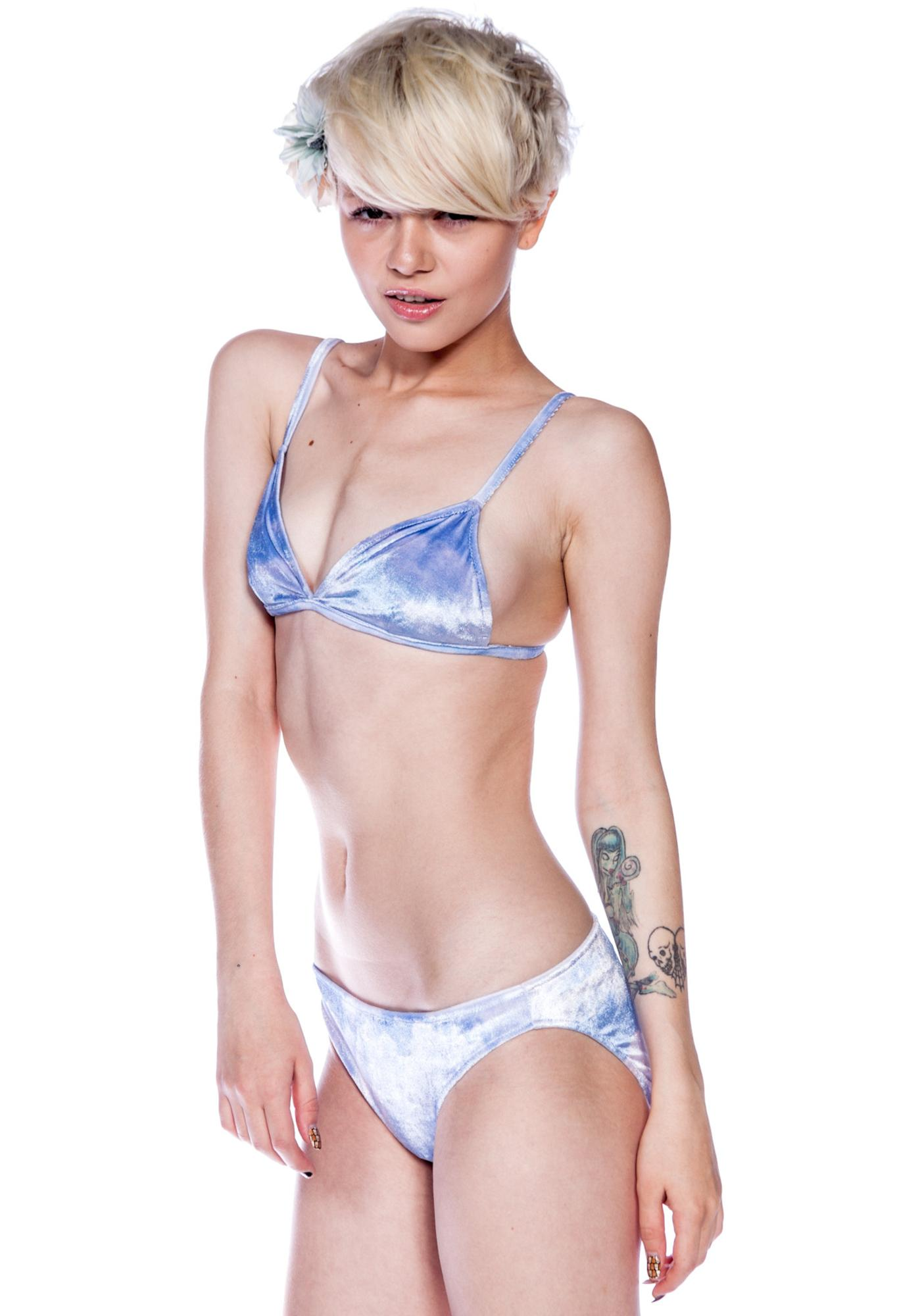 Wildfox Couture Cupid Cloudy Sky Bikini Brief