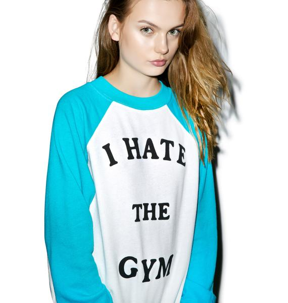 Wildfox Couture No Gym Love Kim's Sweater