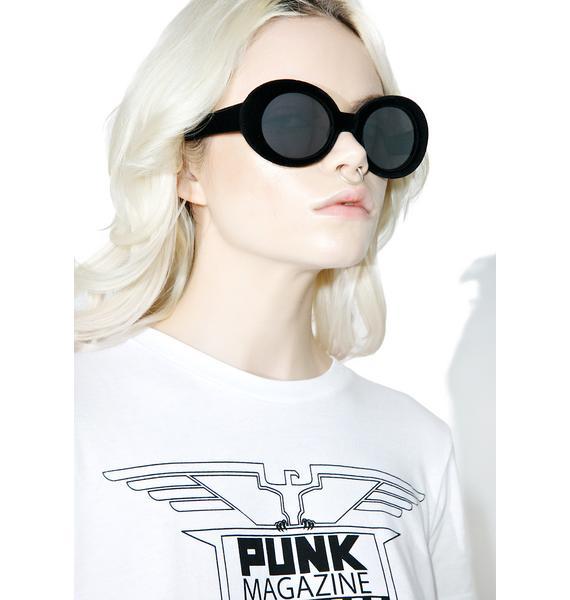 Believer Velvet Sunglasses