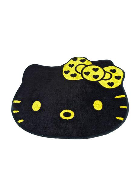 Golden Hello Kitty Rug
