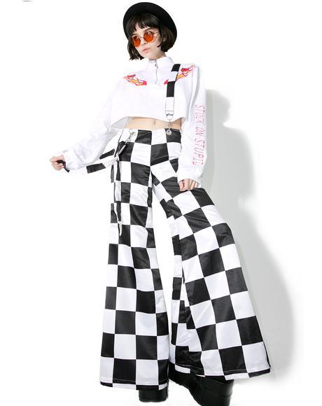 Prankster Checkerboard Suspender Bells