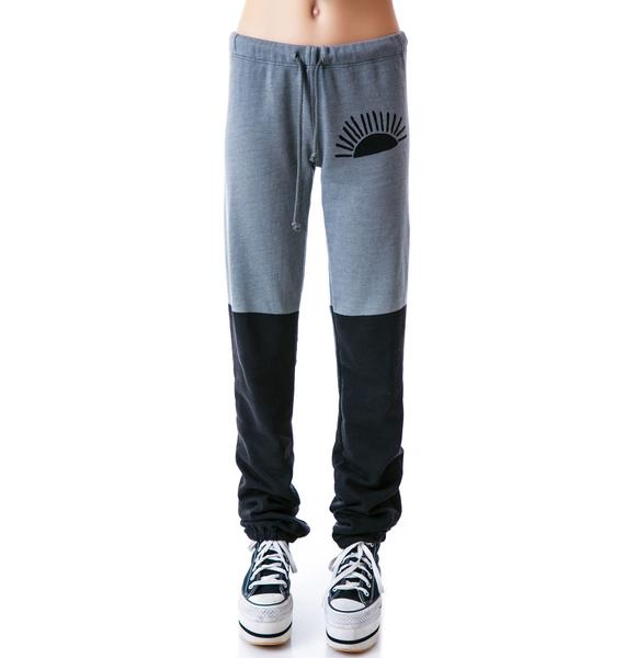 Day By Day Split Color Sweatpants