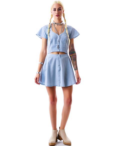 Austin Circle Skirt