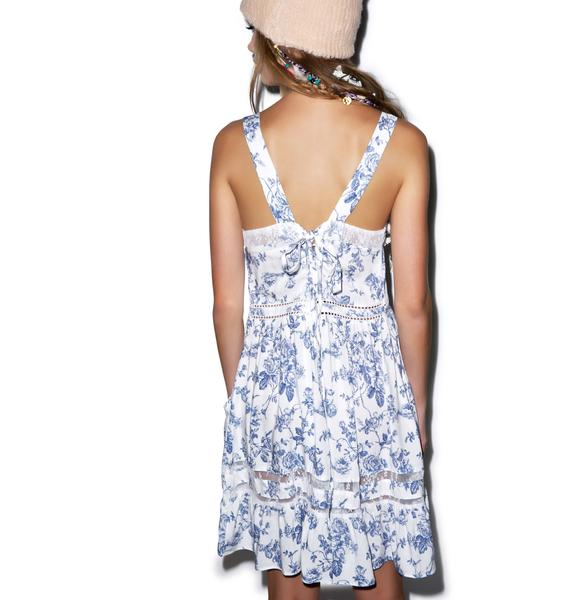Wildfox Couture English Toile Pinafore Slip