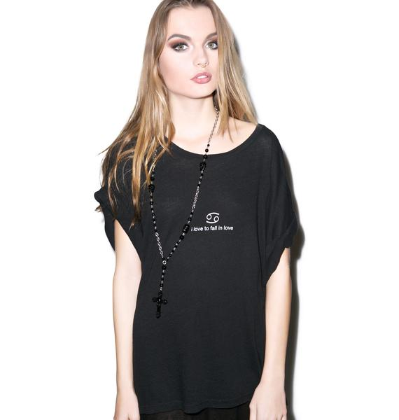 Wildfox Couture Cancer Astrology Boy Tee
