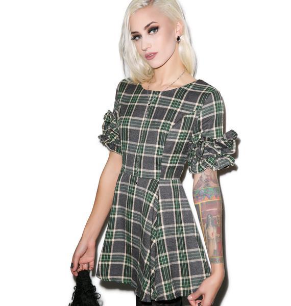 Devil Wore Plaid Dress