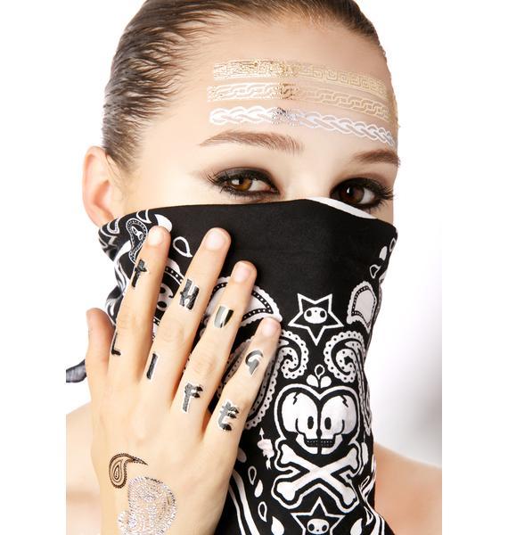 Notorious Temp Tattoo Set