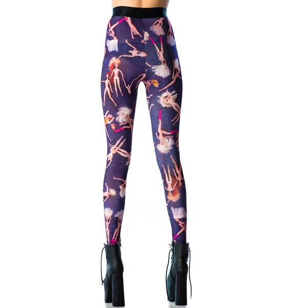 Lip Service Party Doll Leggings