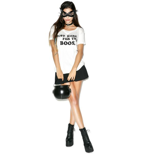 Wildfox Couture Just Here for the Boos Easy Tee