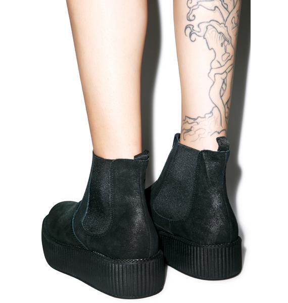 T.U.K. Suede Chelsea Viva Mondo Boots