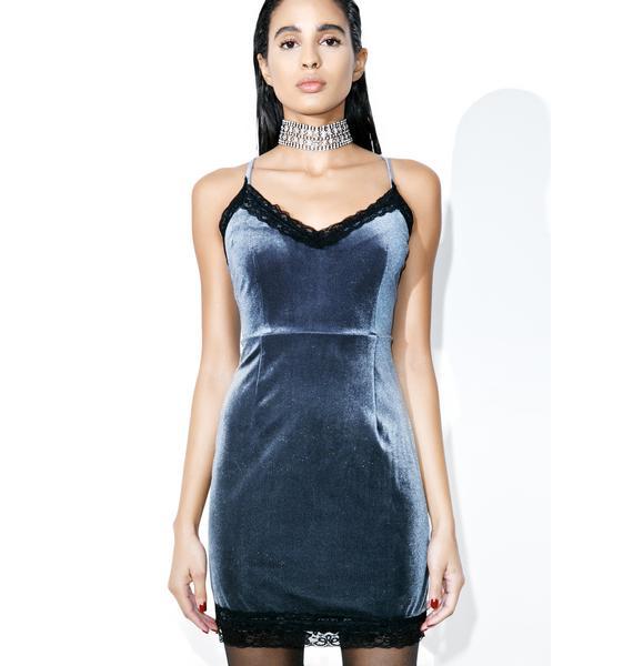 After Party Mini Velvet Dress