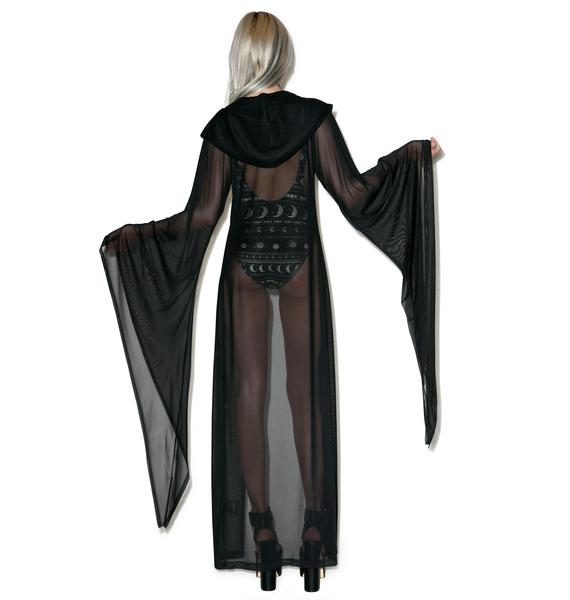 Killstar Demoness Mesh Duster