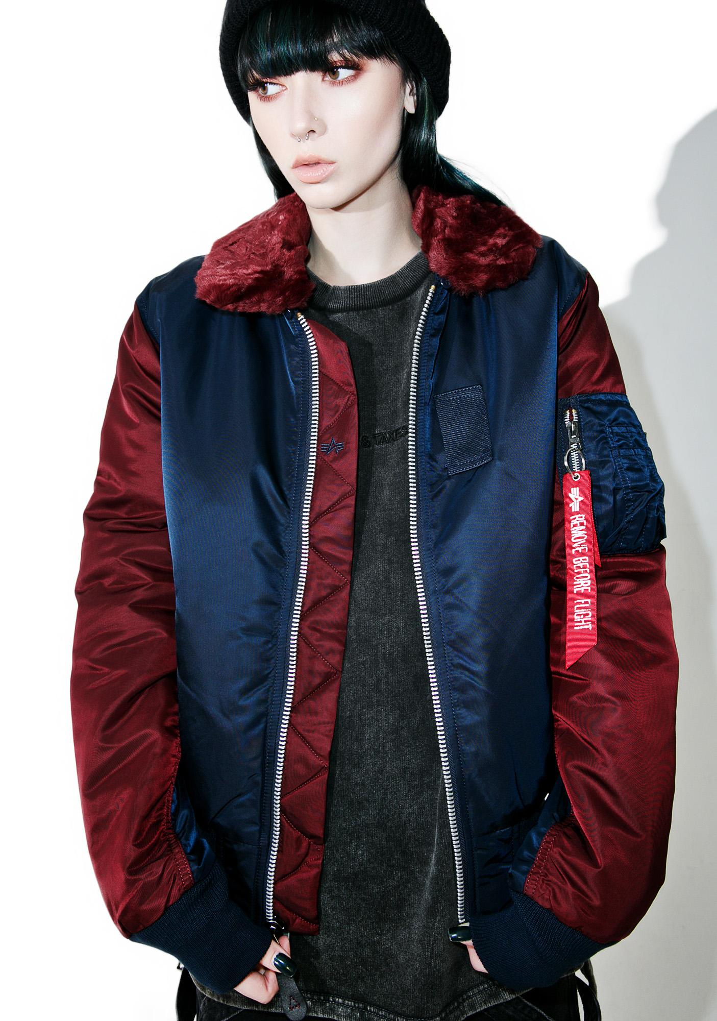 Alpha Industries B-15 Wildcat Flight Jacket