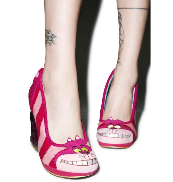 Irregular Choice Prima Dona Cheshire Cat Heel
