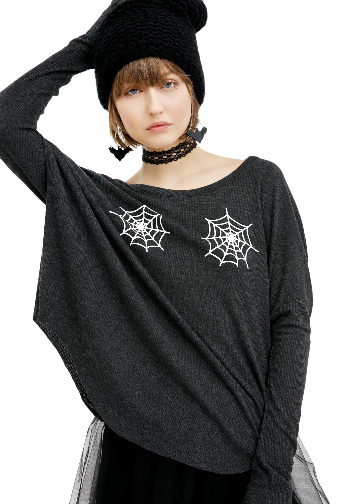 Wildfox Couture Spider Webs Perry Thermal