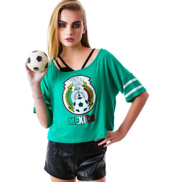World Cup Crop Top