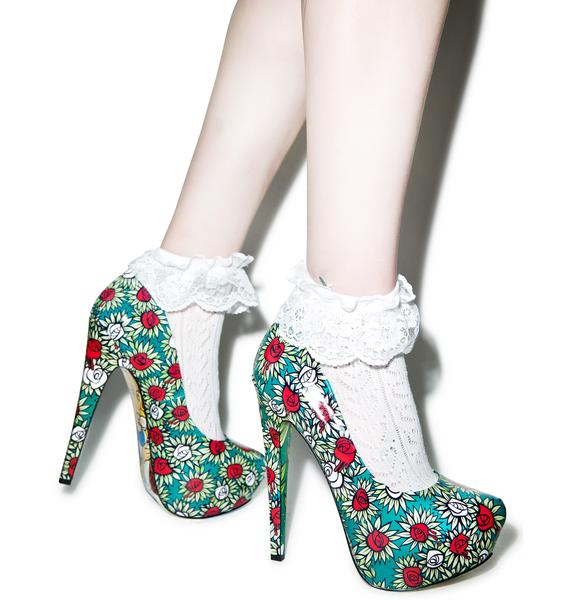 Taylor Says Wonderland Platform Heels