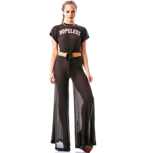 Wildfox Couture Hopeless Thin Rib Cowgirl Tee