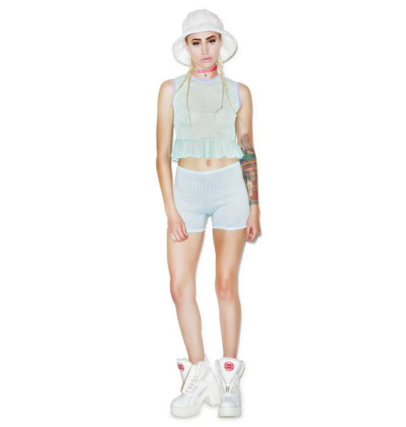 Mamadoux Molly Pocket Crop Top