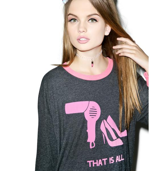 Wildfox Couture That Is All Oversized Sweater