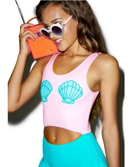 Clam Shell One Piece