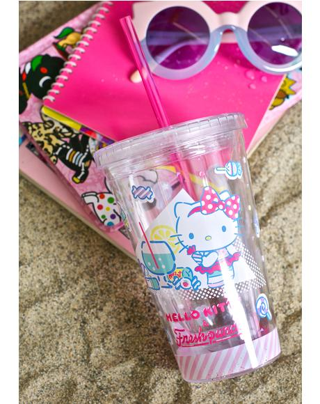 Hello Kitty Fresh Punch Tumbler
