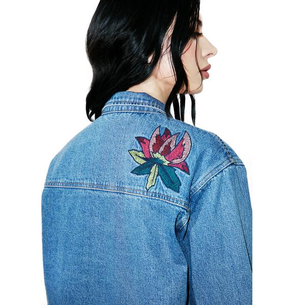 Blue Sparrow Denim Jacket